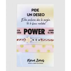 Pulsera power KENA BANG