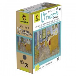 Puzzle art games van gogh