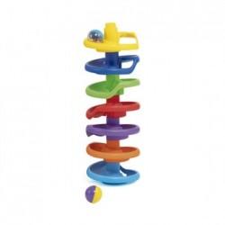 Torre espiral de colores