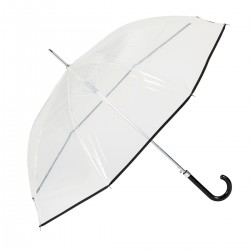Paraguas transparente con...